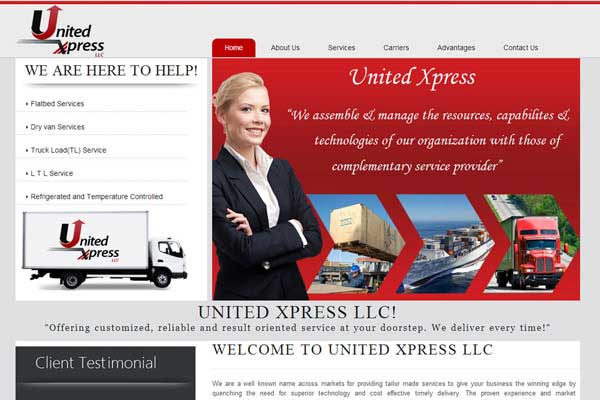 United Express - Website Design & Development